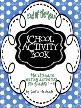 End of Year Activities and Memory Book