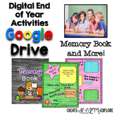 Digital End of Year Memory Book Activities for Google Slid