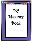 End of Year Activity- My Memory Book