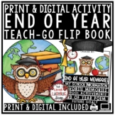 Digital Reflection End of Year Writing Activity Memory Book 3rd, 4th Grade