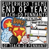 Superhero End of the Year Writing Activity