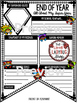 End of Year Activity Poster - Superhero Theme