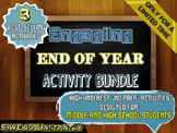 End of Year Activity BUNDLE: 3 Engaging Activities for Mid