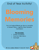 End of Year Activity: Blooming Memories