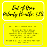 End of Year Activity Bundle - ELA