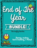 End of Year Activity Bundle For Big Kids!