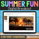 End of Year Activity - End of Year Summer Digital Breakout