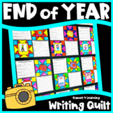 End of Year Writing Prompts Quilt with Summer Bucket List