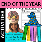 Unicorn End of Year or Beginning of Year Activity Editable