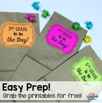 FREE END OF YEAR ACTIVITY | Last Week of School Writing Activity