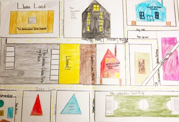 End of Year Activity: Math Geometric City
