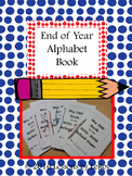 End of Year ABC Book