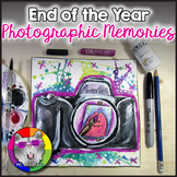 End of Year Art Lesson, Photographic Memories Art Project