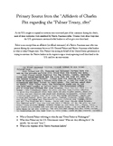 Westward Expansion - Palmer Treaty Primary Source