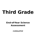 End-of-Year Assessment, 3rd Grade Science