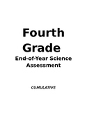 End-of-Year Assessment, 4th Grade Science