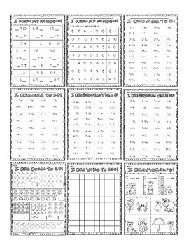 End of Year Assessment: Kindergarten
