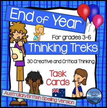 Australia Version End of Year Task Cards