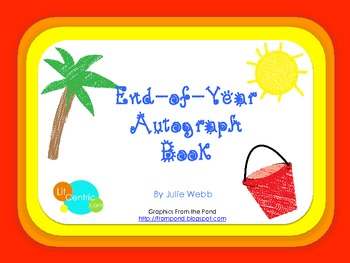 End-of-Year Autograph Book