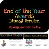 End of Year Award Certificates-Bitmoji Version