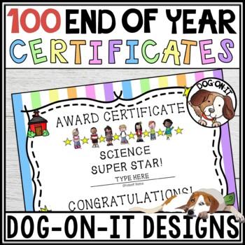 Award Certificates - Set 2