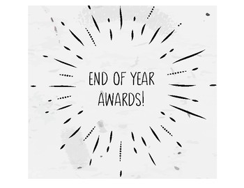 End of Year Awards!