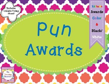 End of Year Awards - Puns