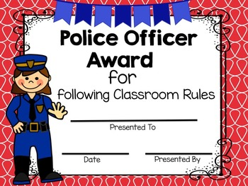 Community Helper End of the Year Awards