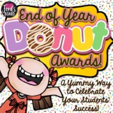 EDITABLE End of the Year Awards | Google Slides™ Donut Awards