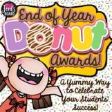 End of the Year Awards | End of Year Awards | Fun Doughnut Theme