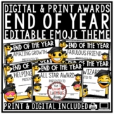 Emoji End of Year Awards EDITABLE