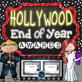 End of Year Awards Editable - Color and B/W