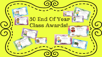 End of Year Awards Blue Chevron