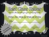 End of Year Awards-3rd Grade Chevron
