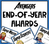 End of Year Awards - Avengers
