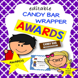 END OF THE YEAR AWARDS {Candy Bar Wrapper Awards}