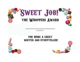 End of Year Awards- Candy Theme