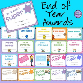 End of Year Awards/Certificates