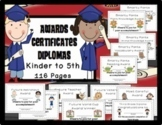Editable End of Year Awards, Certificates, Diplomas {K-5}, Powerpoint, PDF