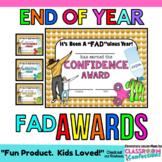 End of the Year Awards: Editable:  Emojis, Dabbing, Bottle