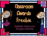 Awards Sampler Pack (End of Year Awards)