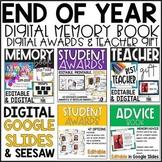 End of Year Awards, Memory Book,  Advice Book  (Digital, Print, & Editable)