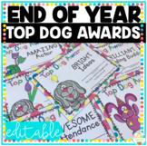 End of Year Awards Dog Themed Top Dog Awards