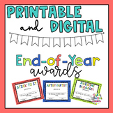 End of Year Awards (Dollar Store Gift Ideas)