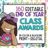End of Year Awards - 160 EDITABLE COLOR, B&W + DIGITAL