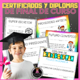 End of Year Awards EDITABLE in Spanish