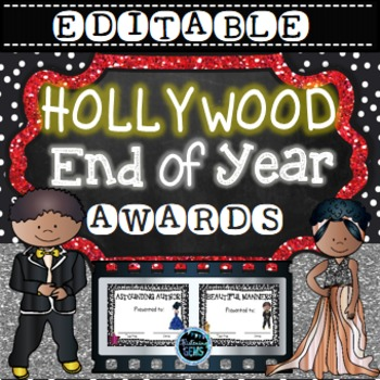 End of Year Awards {Editable}