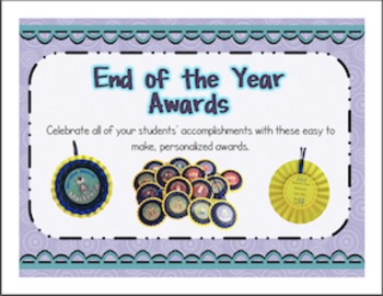 End of Year Awards (Editable)