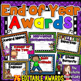 End of Year Awards -Editable