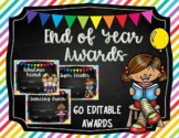 End of the Year Awards/ Class Certificates - Editable